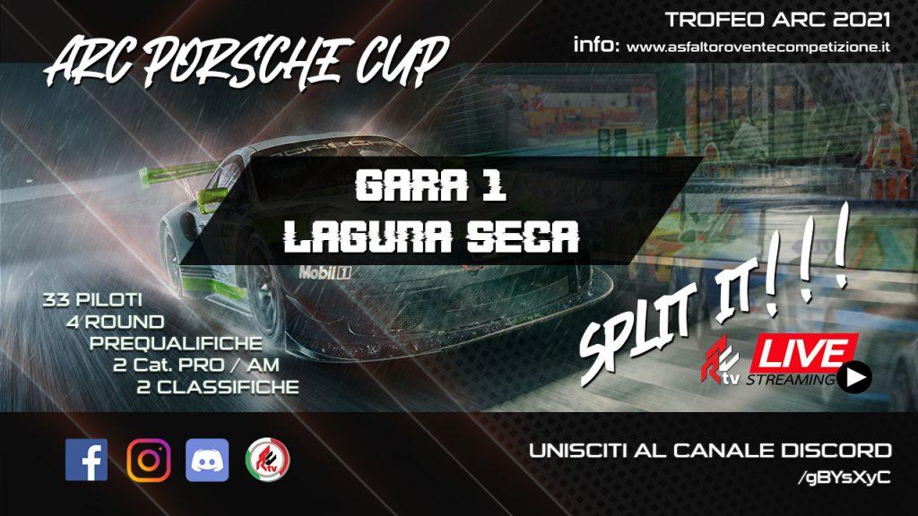 - AsfaltoRoventeCompetizione GARA 1 - PORSCHE CUP @ LAGUNA ...
